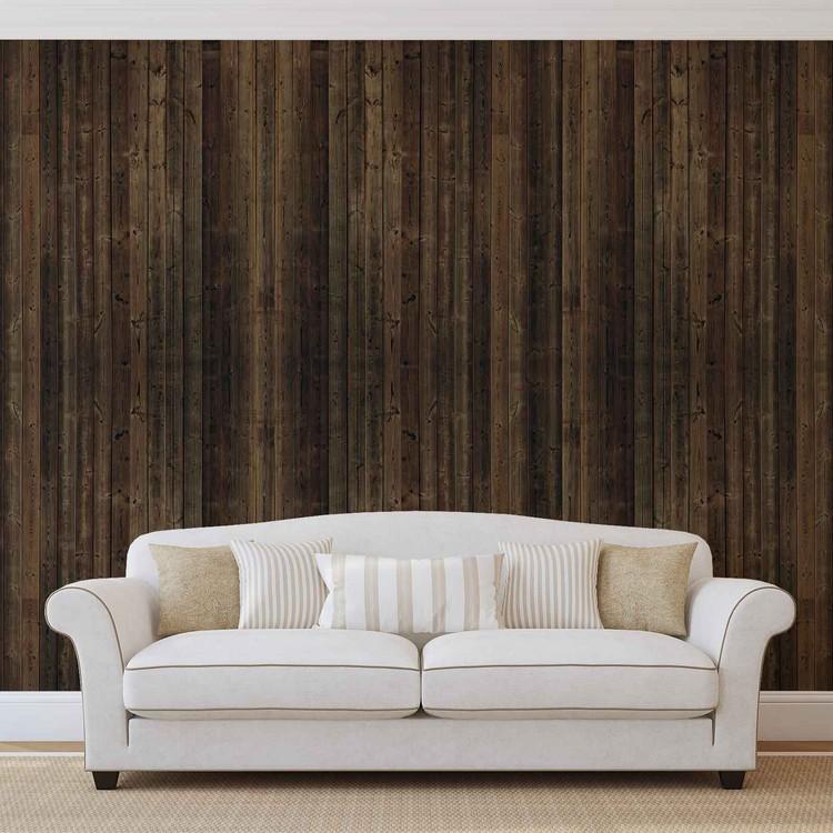 Fotomurale tablones de madera papel pintado for Tablones de madera precios