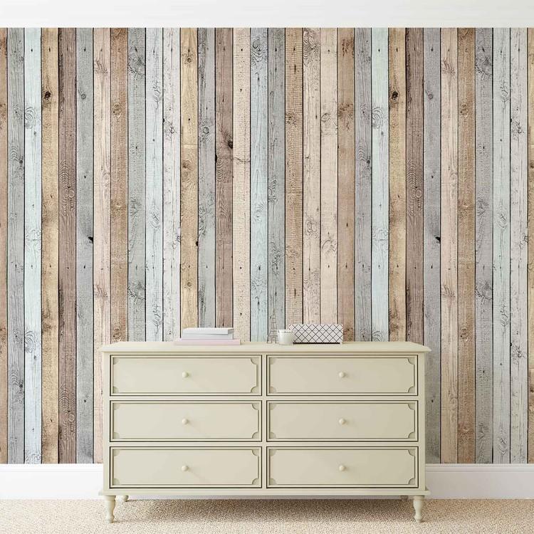 Fotomurale textura de tablones de madera papel pintado for Tablones de madera precios