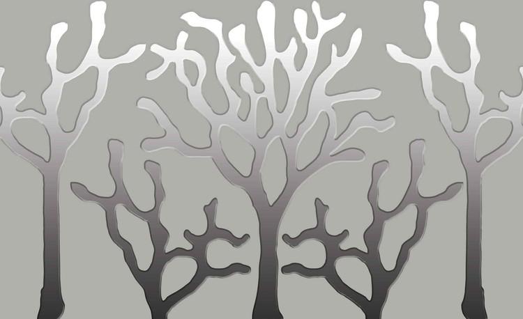 Fototapeta, Tapeta Strom abstraktní umění, (368 x 254 cm) 368x254 cm - 115g/m2 Paper