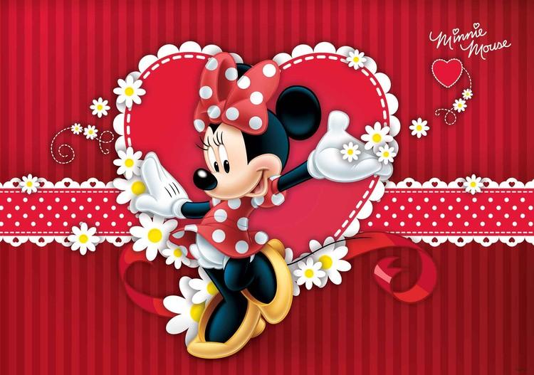 Fototapeta, Tapeta Disney Minnie Mouse, (368 x 254 cm) 368x254 cm - 115g/m2 Paper