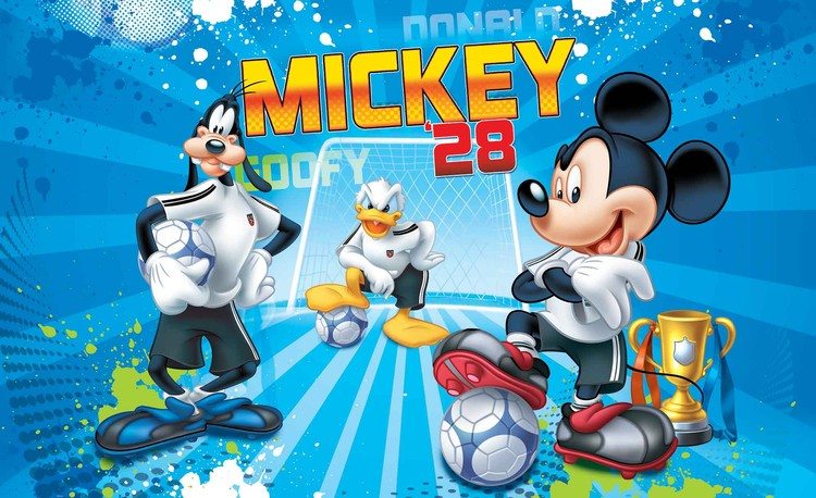 Fototapeta, Tapeta Disney Mickey Mouse, (368 x 254 cm) 368x254 cm - 115g/m2 Paper