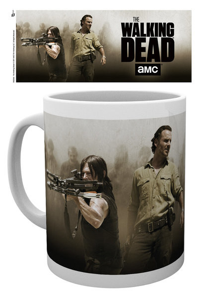 Hrnek The Walking Dead - Rick and Daryl