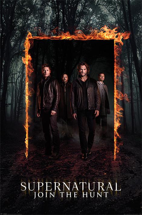 Plakát, Obraz - Lovci duchů - Supernatural - Burning Gate, (61 x 91,5 cm)