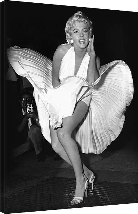 Obraz na plátně Marilyn Monroe - Seven Year Itch, (60 x 80 cm)