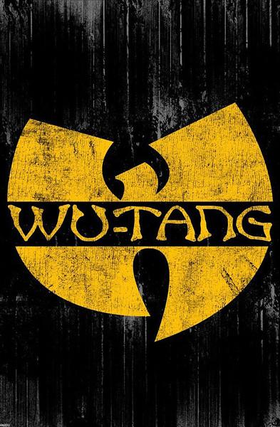 Plakát, Obraz - Wu-Tang Clan - Logo, (91,5 x 61 cm)