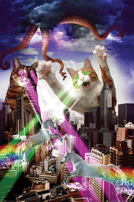 Plakát, Obraz - Apocalypse Meow, (61 x 91,5 cm)