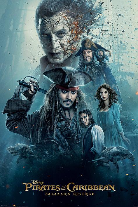 Plakát, Obraz - Piráti z Karibiku - Burning, (61 x 91,5 cm)