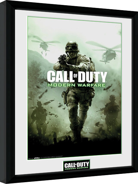 Obraz na zeď - Call of Duty Modern Warfare - Key Art