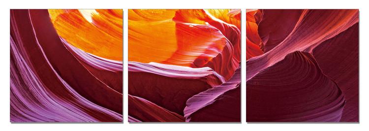 Obraz na zeď - Zlaté hory, (150 x 50 cm)