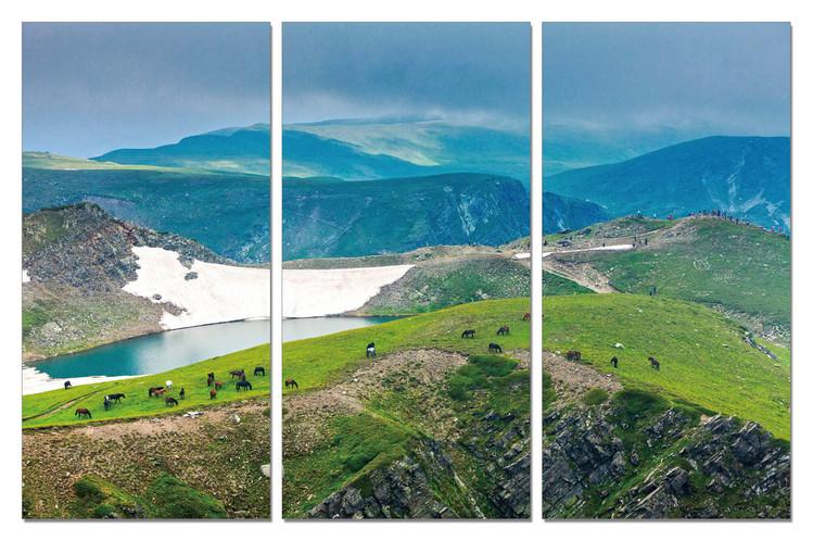 Obraz na zeď - Zelené hory, (90 x 60 cm)
