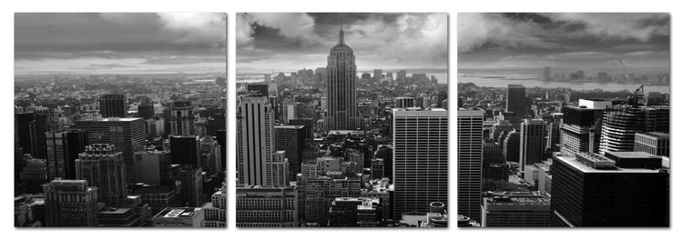 Obraz New York, (140 x 50 cm)