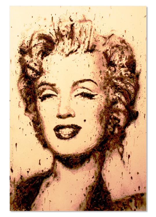 Obraz na zeď - Portrét – Marilyn Monroe, (80 x 120 cm)