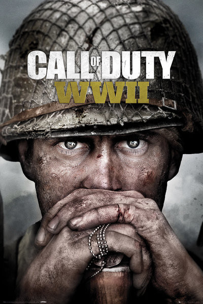 Plakát, Obraz - Call Of Duty: Stronghold - WWII Key Art, (61 x 91,5 cm)