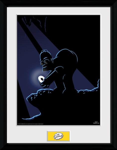 Obraz na zeď - Simpsonovi - Gollum