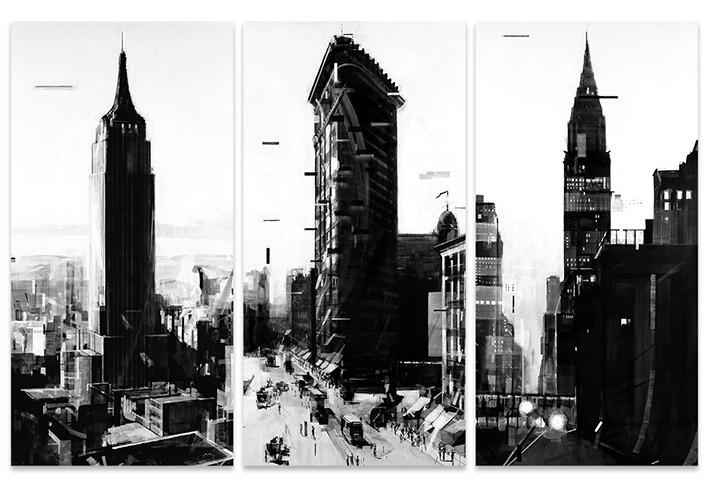 Obraz na plátně Wessel Huisman - New York Series, (150 x 100 cm)