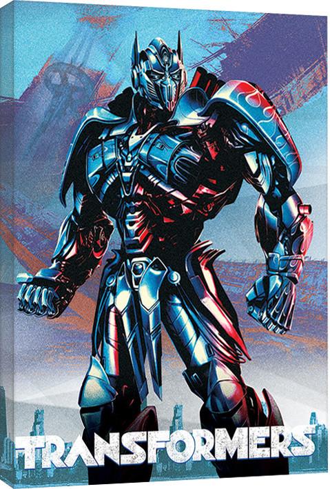 Obraz na plátně Transformers: Poslední rytíř - Optimus, (60 x 80 cm)