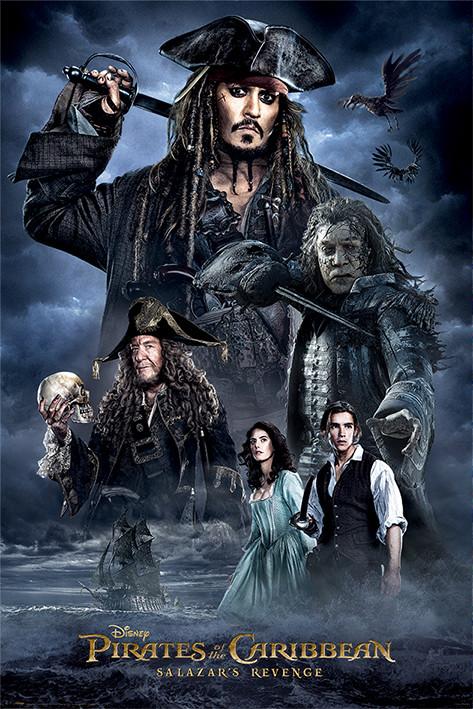 Plakát, Obraz - Piráti z Karibiku - Darkness, (61 x 91,5 cm)