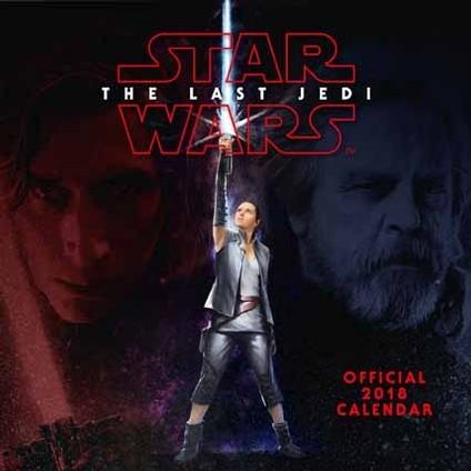 Kalendář 2018 Star Wars: Poslední z Jediů