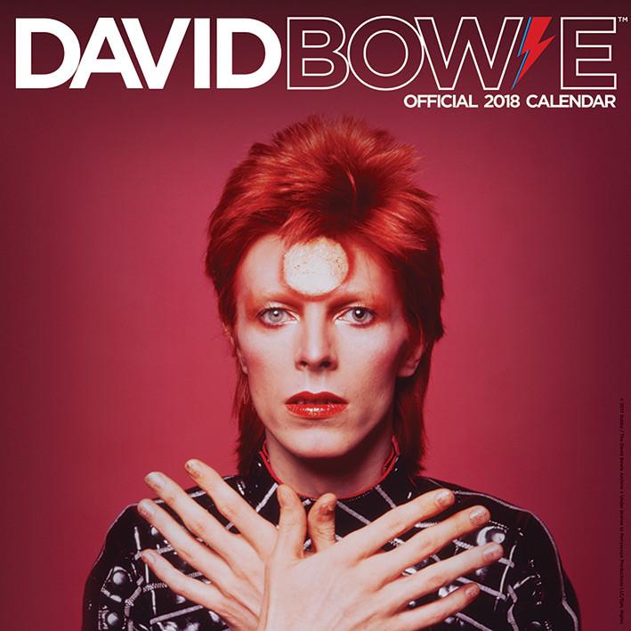 Kalendář 2018 David Bowie