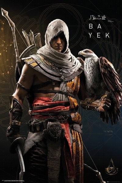 Plakát, Obraz - Assassins Creed Origins - Bayek, (61 x 91,5 cm)