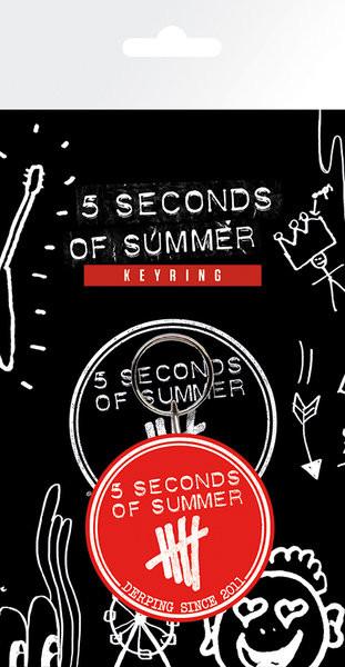 5 Seconds of Summer - Derping kulcsatartó