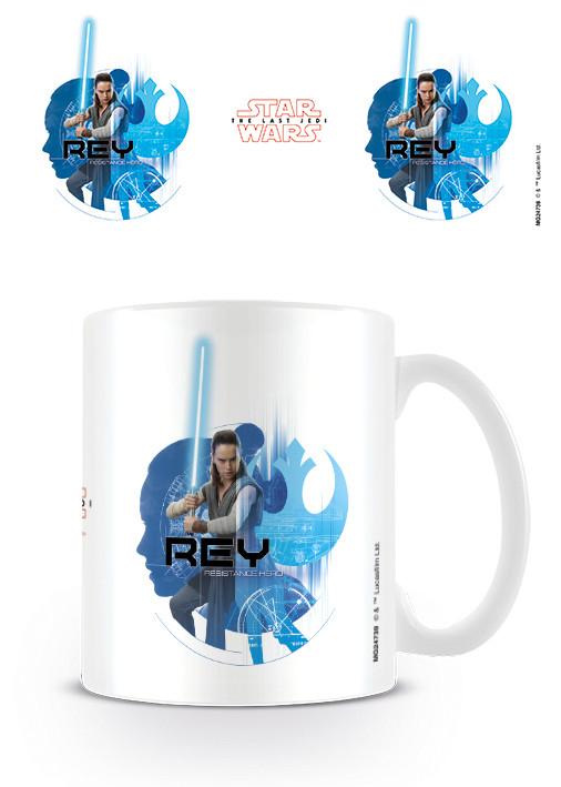 Hrnek Star Wars: Poslední z Jediů - Rey Icons