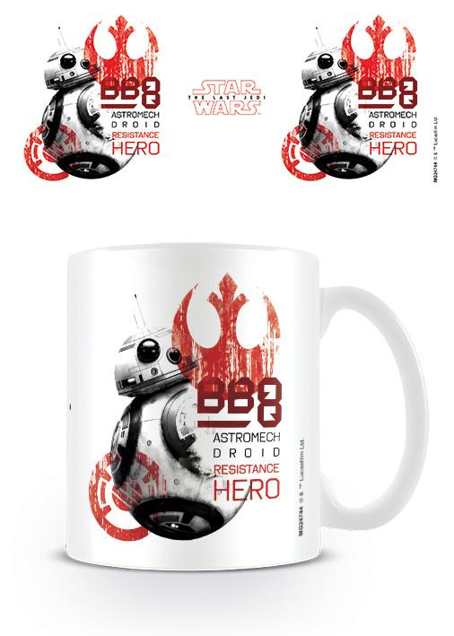 Hrnek Star Wars: Poslední z Jediů - BB-8 Resistance Hero