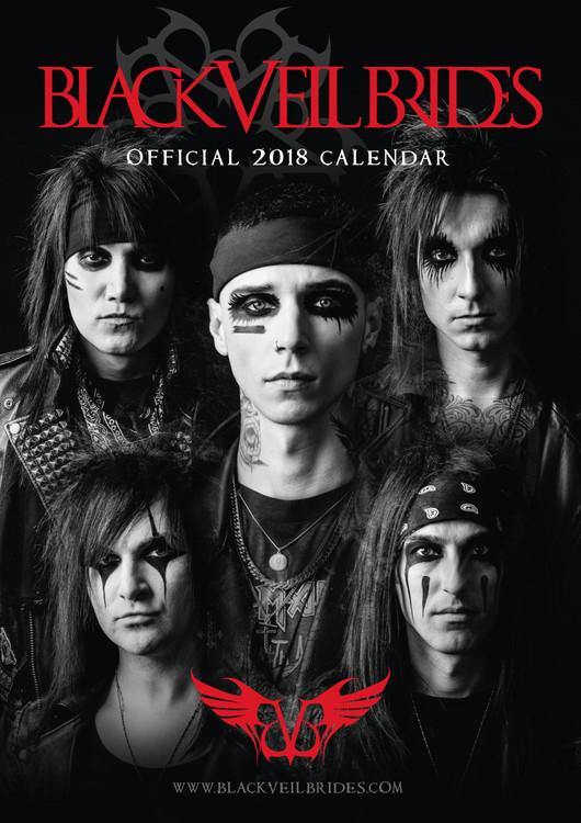 Kalendář 2018 Black Veil Brides