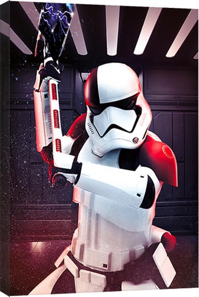 Obraz na plátně Star Wars: Poslední z Jediů - Executioner Trooper