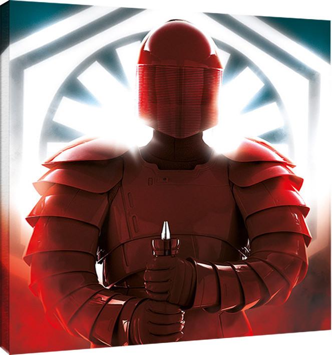 Obraz na plátně Star Wars: Poslední z Jediů - Elite Guard Defend, (40 x 40 cm)