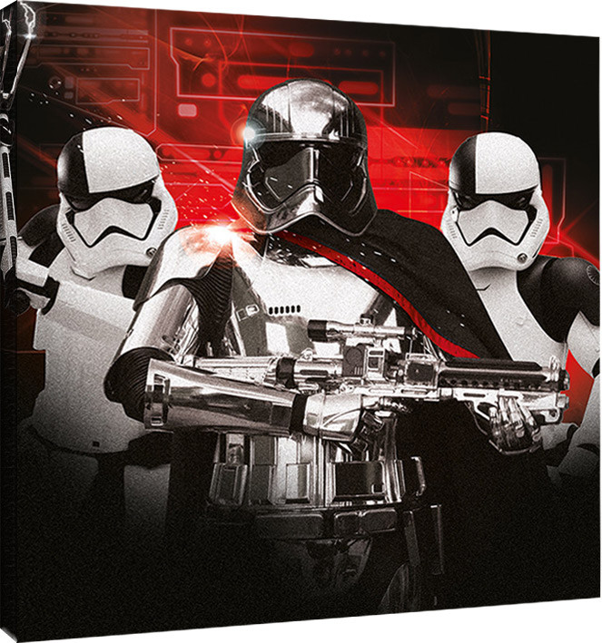 Obraz na plátně Star Wars: Poslední z Jediů - Trooper Team