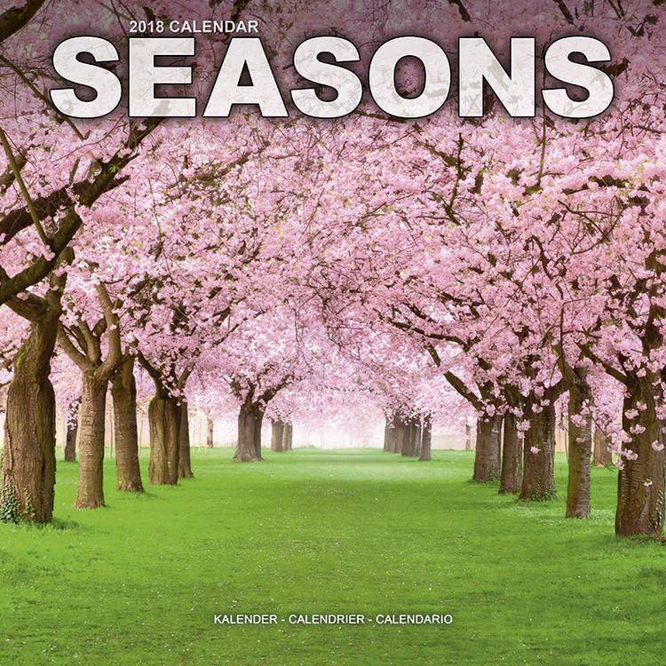 Kalendář 2018 Seasons