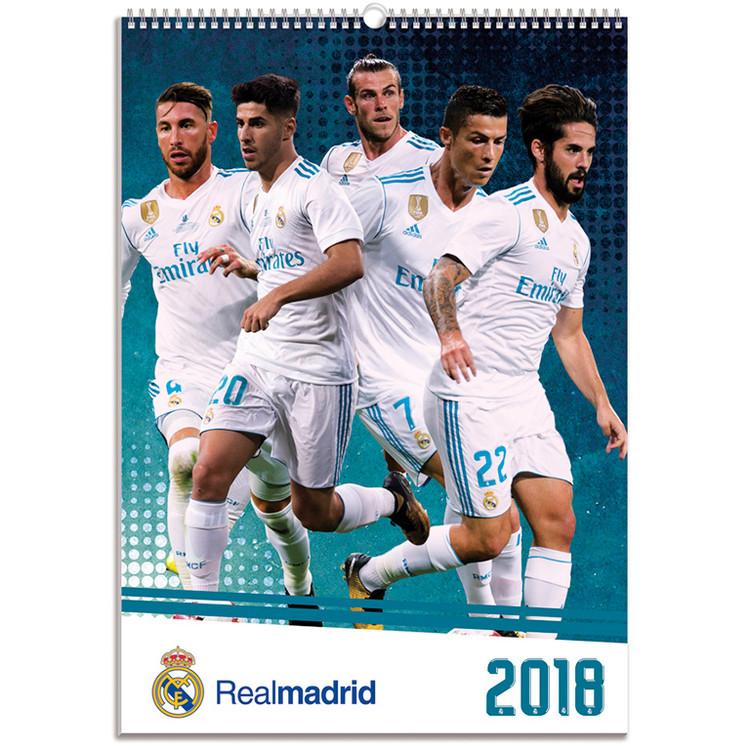 Kalendář 2018 Real Madrid