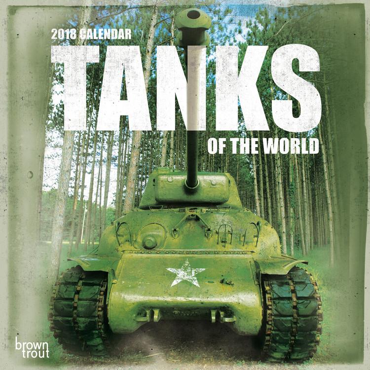 Kalendář 2018 Tanks of the World