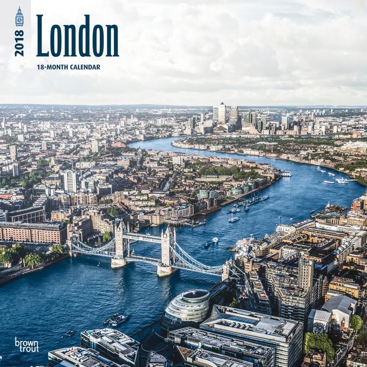 Kalendář 2018 London