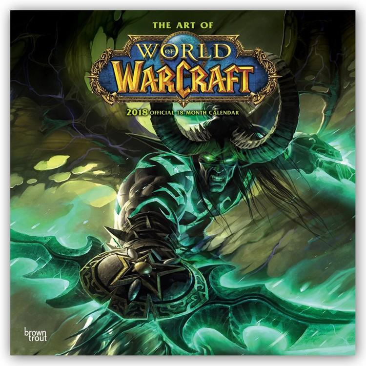Kalendář 2018 World of Warcraft