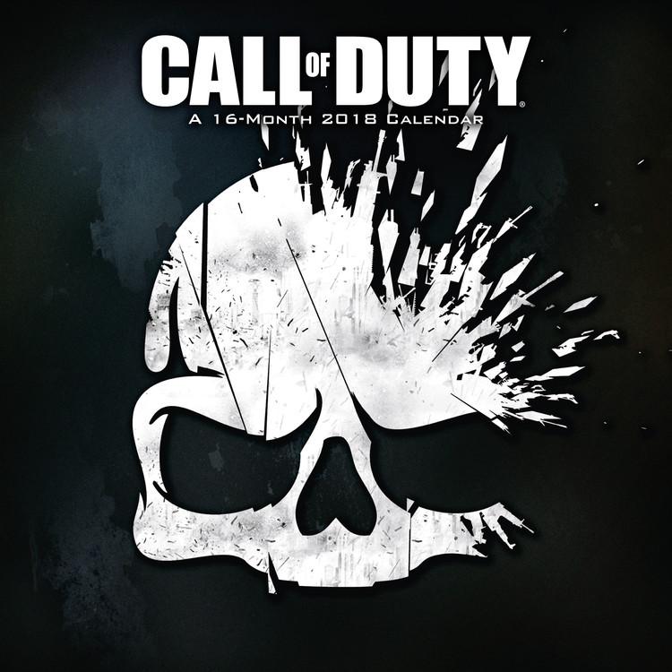 Kalendář 2018 Call Of Duty