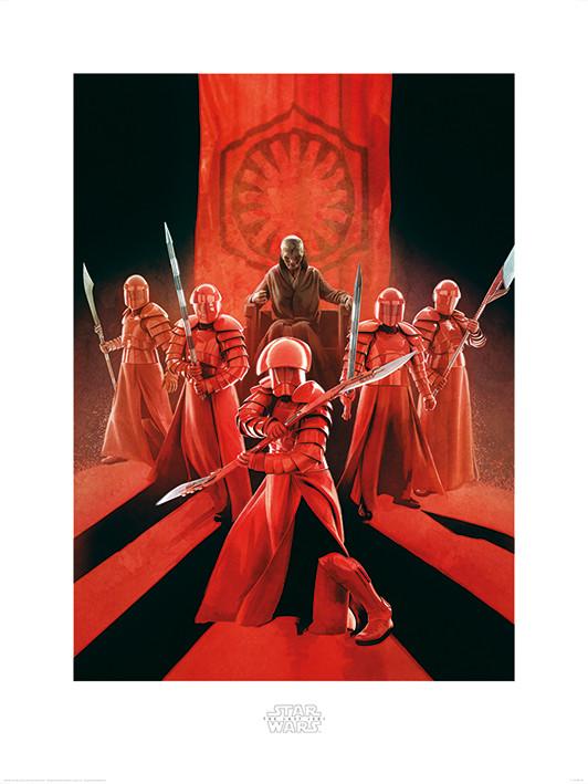 Obraz, Reprodukce - Star Wars: Poslední z Jediů - Snoke & Elite Guards, (60 x 80 cm)
