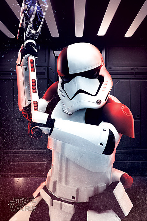 Plakát, Obraz - Star Wars: Poslední z Jediů - Executioner Trooper, (61 x 91,5 cm)