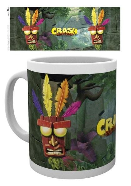 Hrnek Crash Bandicoot - Aku Aku