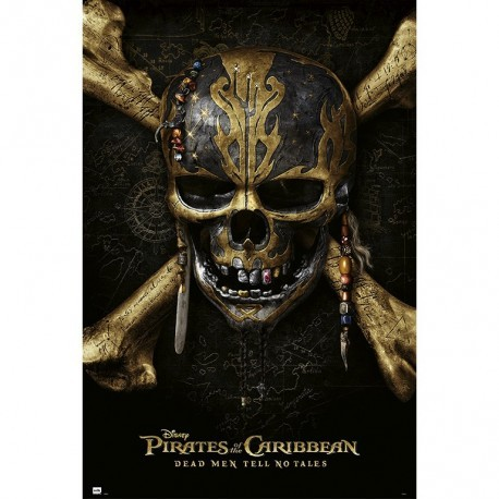 Plakát, Obraz - Piráti z Karibiku - Skull, (61 x 91,5 cm)