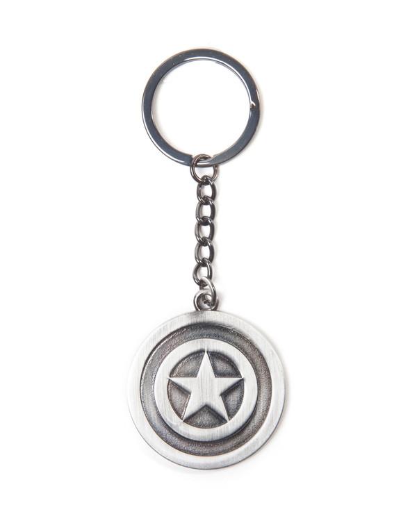 Klíčenka Marvel Comics - Captain America Shield