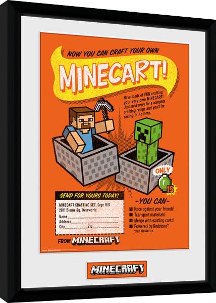 Obraz na zeď - Minecraft - Craft Your Own Minecraft