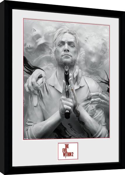 Obraz na zeď - The Evil Within 2 - Key Art