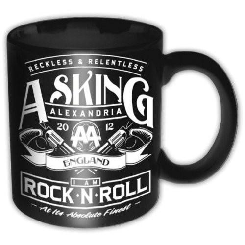 Hrnek Asking Alexandria – Rock N Roll
