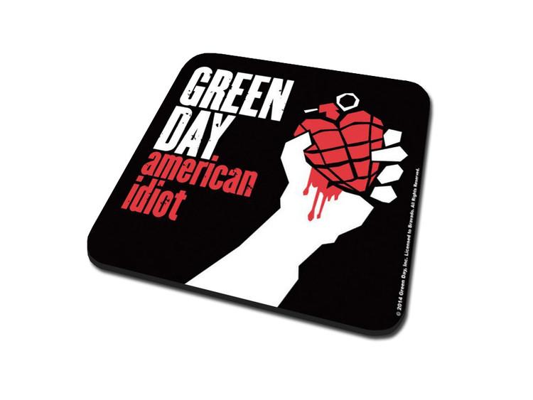 Podtácek Green Day – American Idiot
