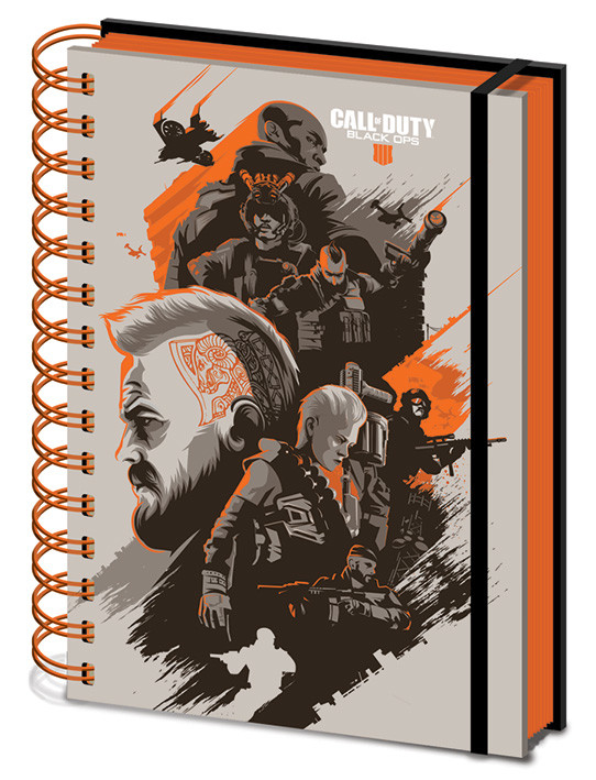Call Of Duty - Black Ops 4 Zápisník