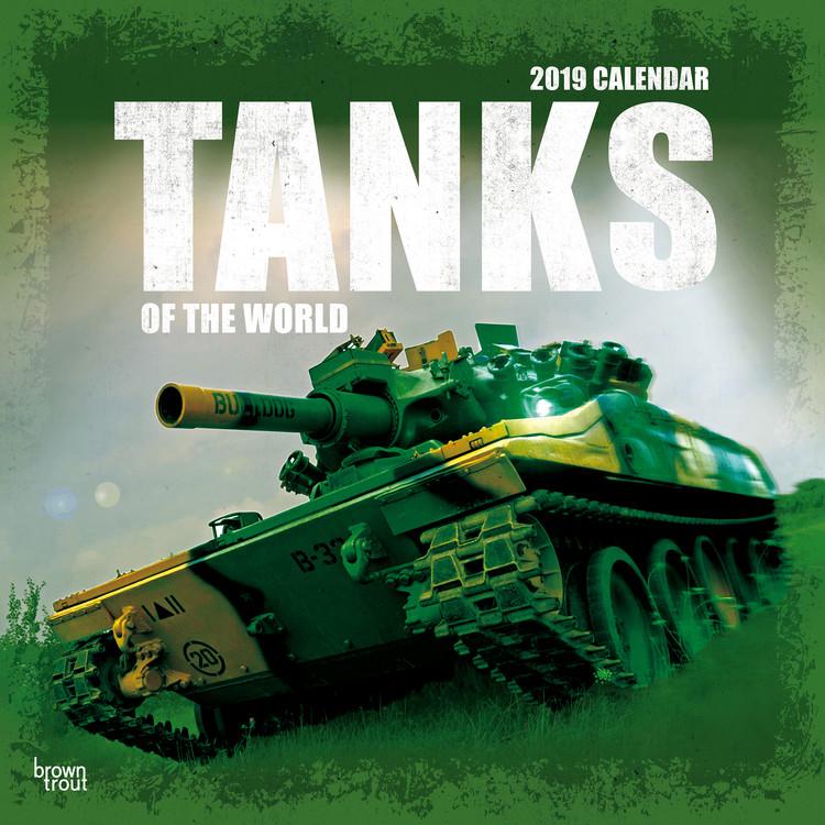 Kalendář 2019 Tanks Of The World