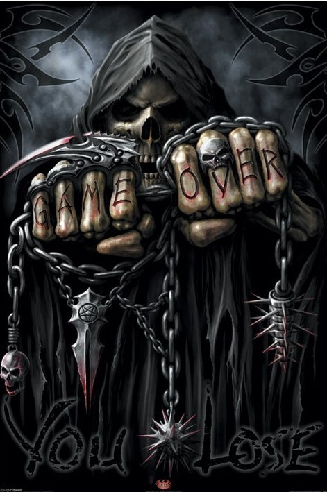 Plakát, Obraz - Spiral - game over Reaper, (61 x 91,5 cm)