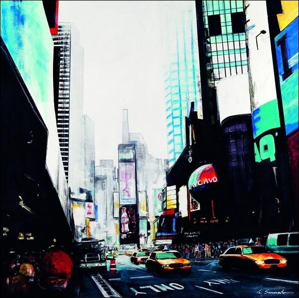 Obraz, Reprodukce - Semenzato - New York Live, (70 x 70 cm)